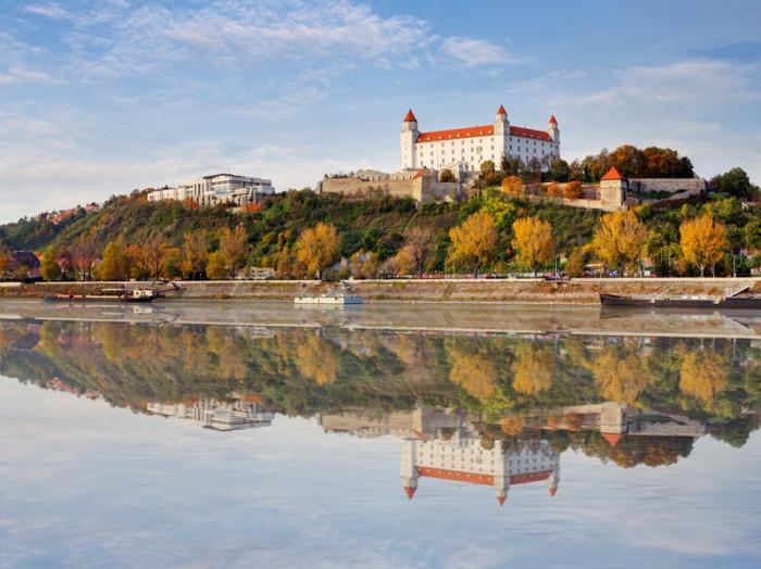 Bratislava  at autumn, Slovakia