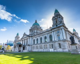 The city hall of Belfast North Ireland, Belfast city, Northern Ireland, UK