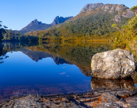 Lake Lilla - Cradle Mountain Lake St Clair National Park - Tasmania - Australia