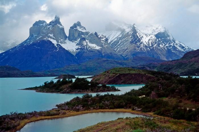 Torres del Paine, Chile, im Nationalpark an der argentinischen Grenze