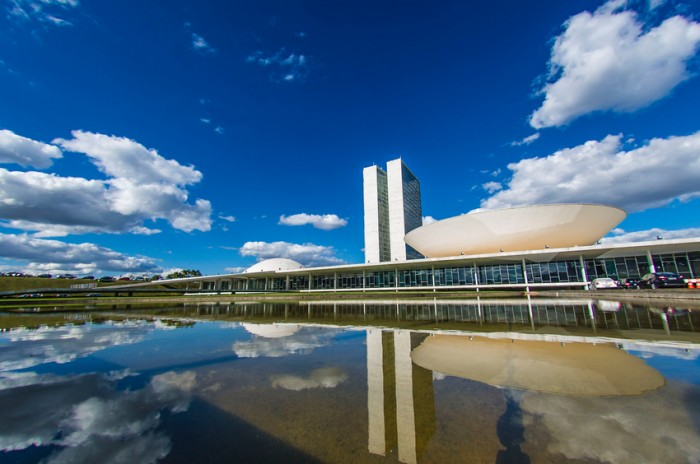 National Congress in the city of Brasilia in Federal District