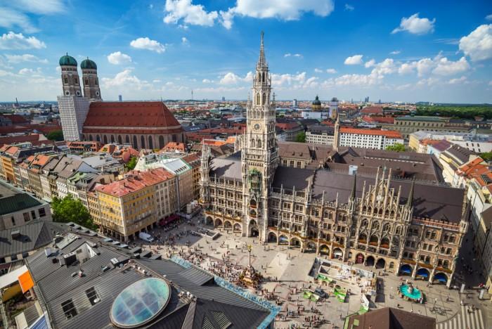 Marienplatz town hall - Munich - Germany