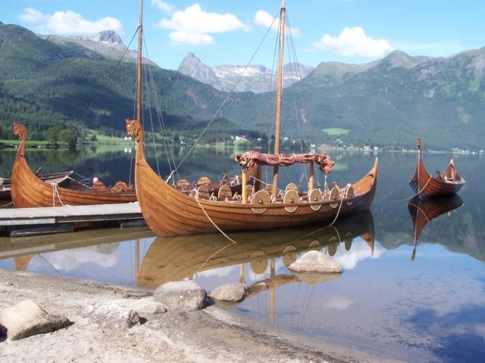 Norway Viking boat