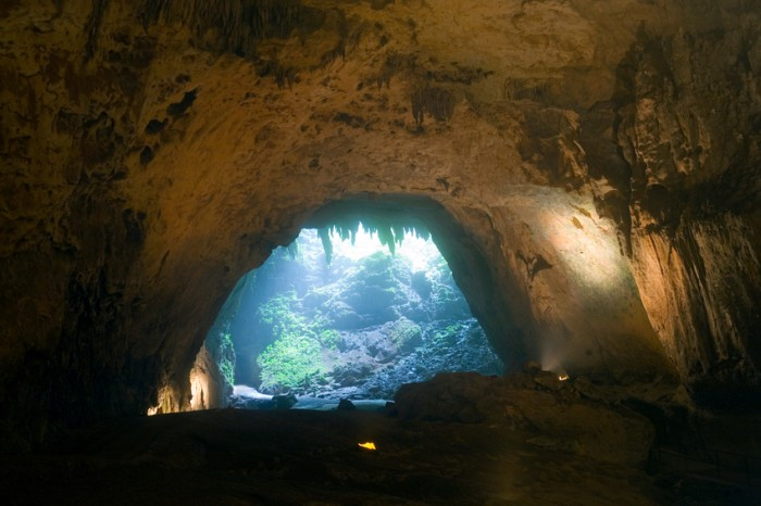Inside the Rio Camuy Cave park in CAMUY, PUERTO RICO.