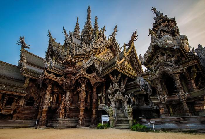 Sanctuary of Truth in Naklua Pattaya