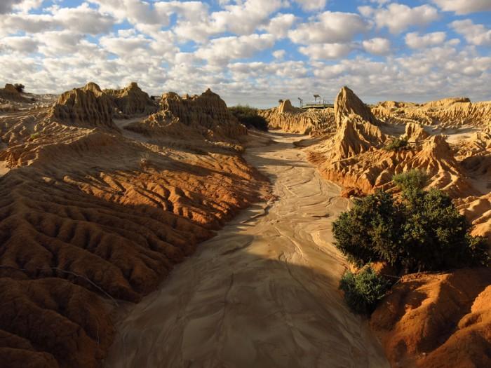 Beautiful mungo national park, NSW, Australia