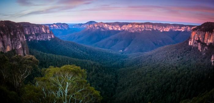 Govetts Leap, Blur mountain, Australia
