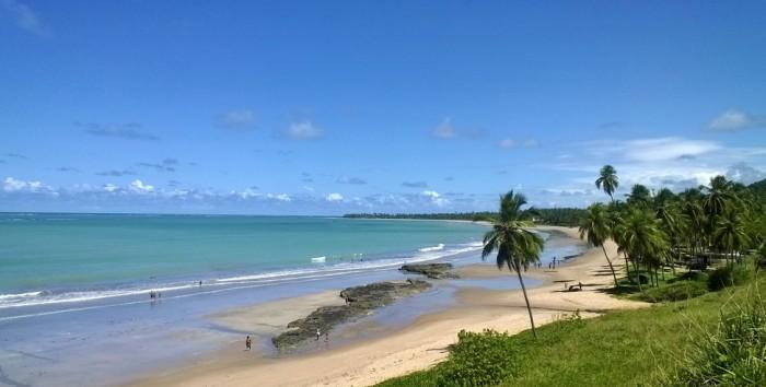 Uma das mais belas praias do litoral alagoano