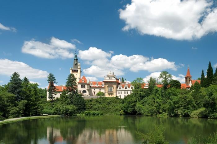 """""""Pruhonice Castle, Czech Republic"""""""