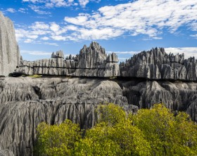 Tsingy de Bemaraha National Park. Unesco World Heritage in Madagascar.