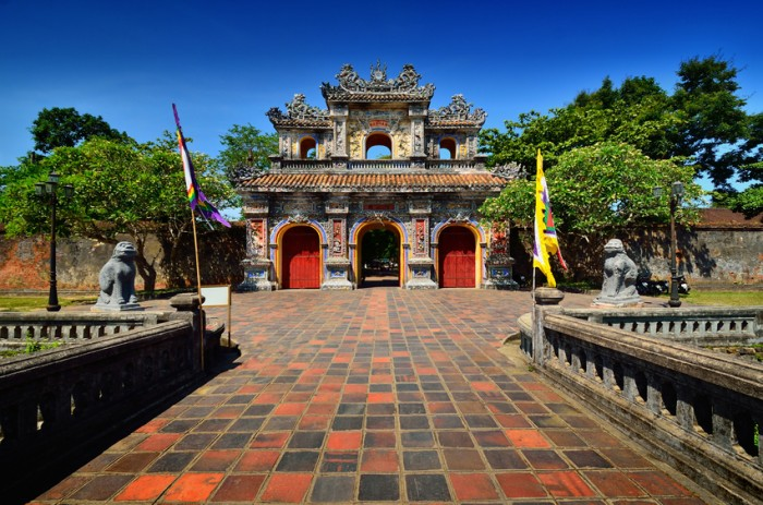 Complex of Hue monuments ,Vietnam