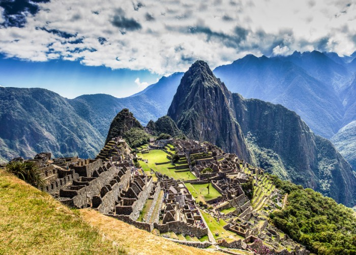 Machu Picchu Lost city of Inkas in Peru