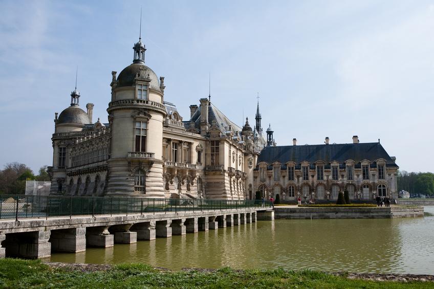 Le Chateau de Chantilly dans l'Oise