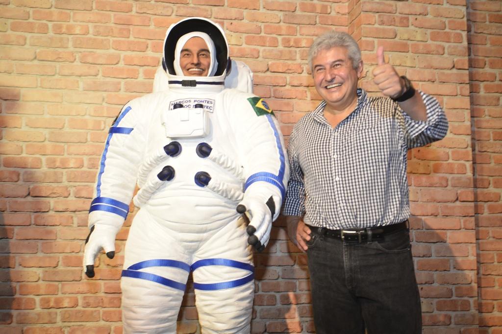Astronauta Marcos Pontes é um dos homenageados do Museu de Cera