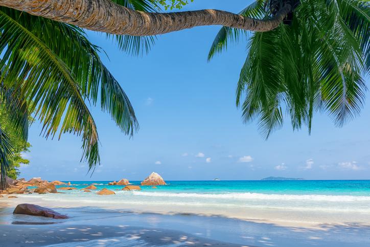 anse lazio beach praslin island seychelles