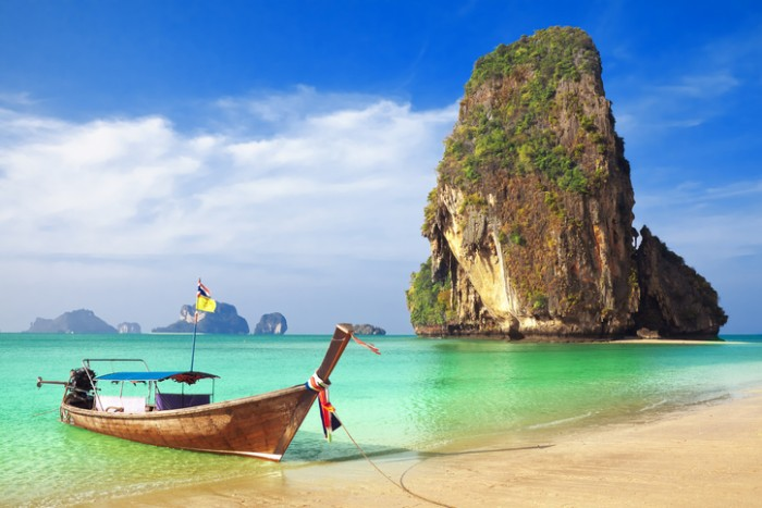 Railay beach, Krabi. Thailand