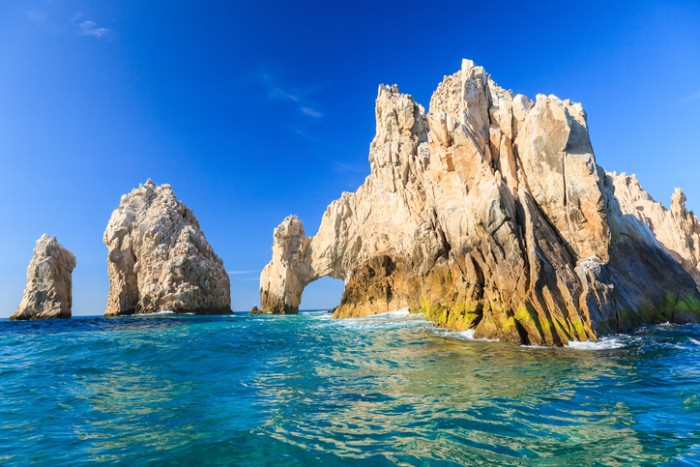 Famous arch in Cabo San Lucas, Mexico