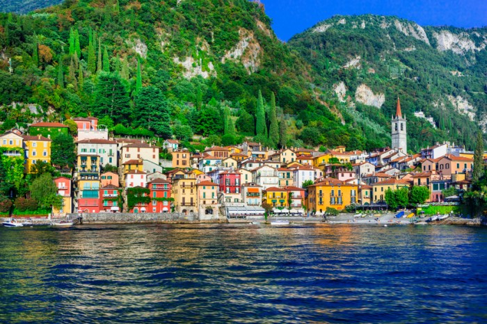 Beautiful Varenna Village,Lake Of Como.