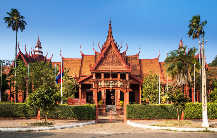 This is Cambodia's largest museum of cultural history and is the country's leading historical and archaeological museum.