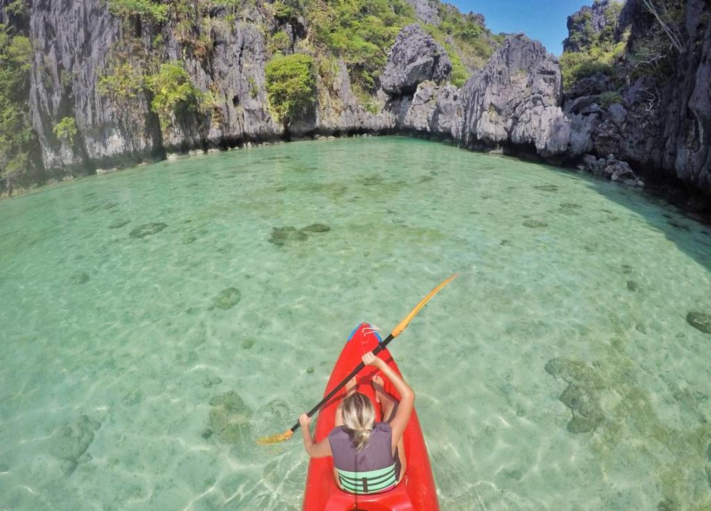Small Lagoon em El Nido, Filipinas | Créditos: Lala Rebelo