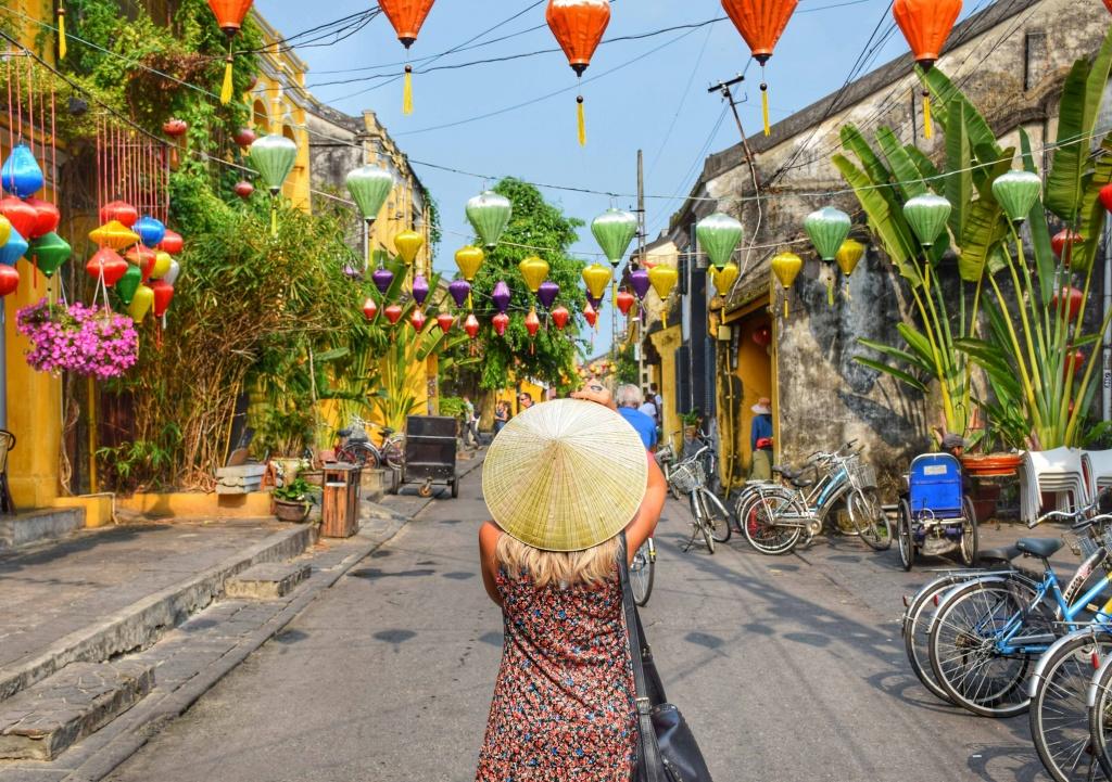 Na cidade de Hoi An, no Vietnã