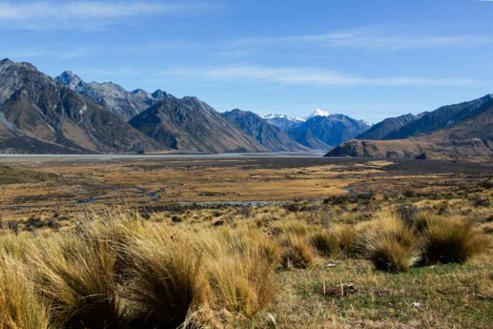 Edoras from Lord of the Rings, Canterbury, South Island of New Zealand