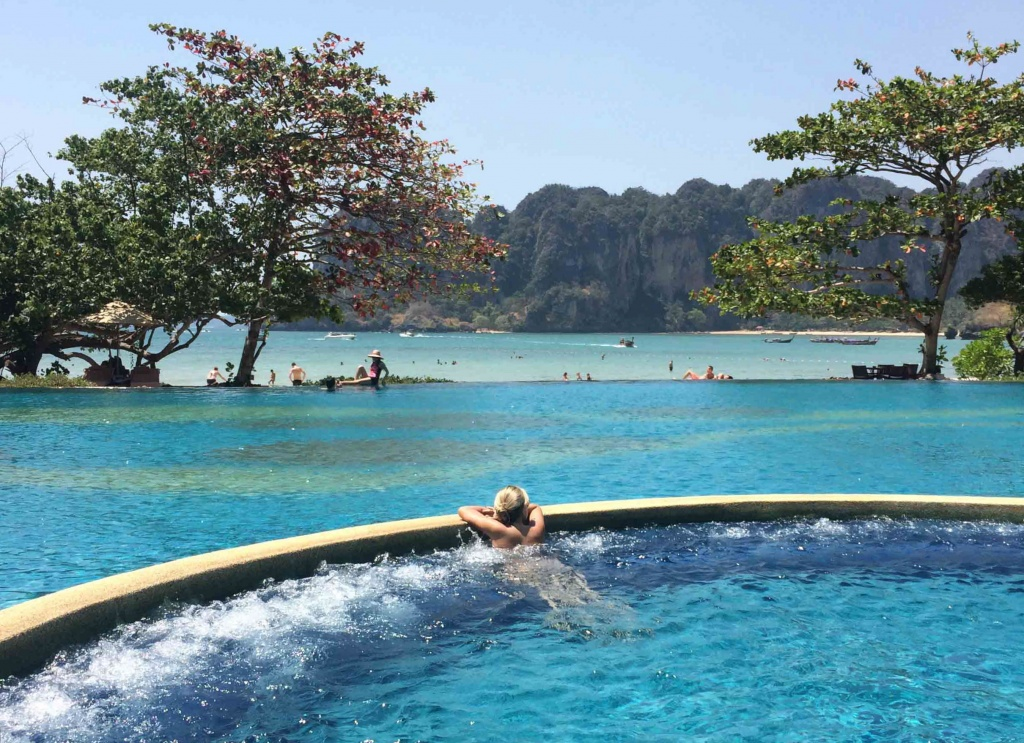 O luxuoso Rayavadee Resort, em Krabi, na Tailândia