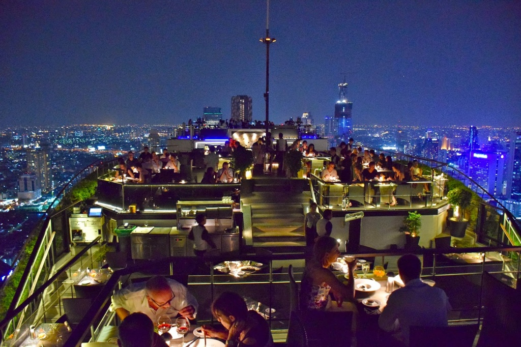 Vertigo & Moon Bar no Banyan Tree Hotel em Bangkok