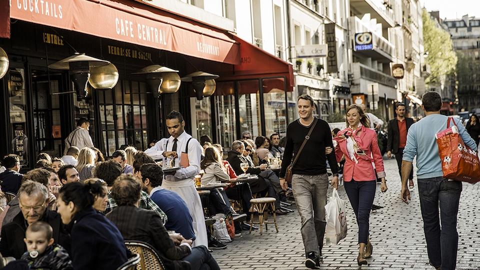 caminhar em paris