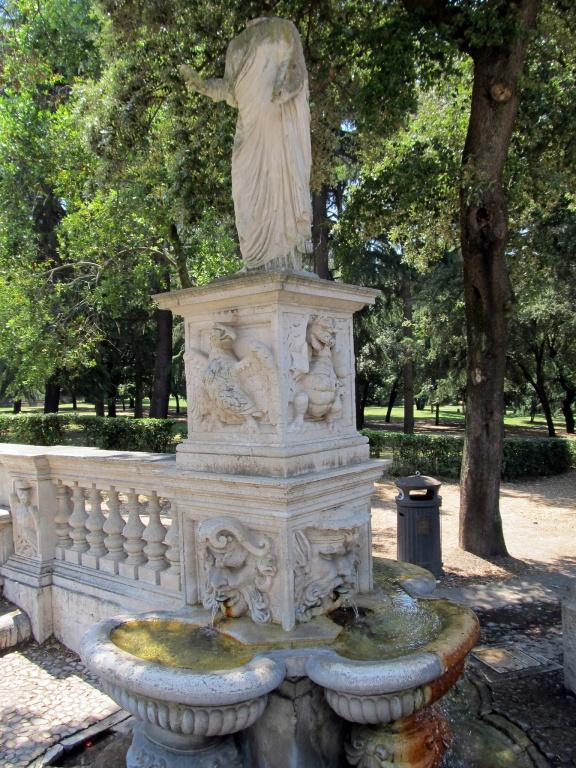 Fonte em Roma - Créditos: Flickr