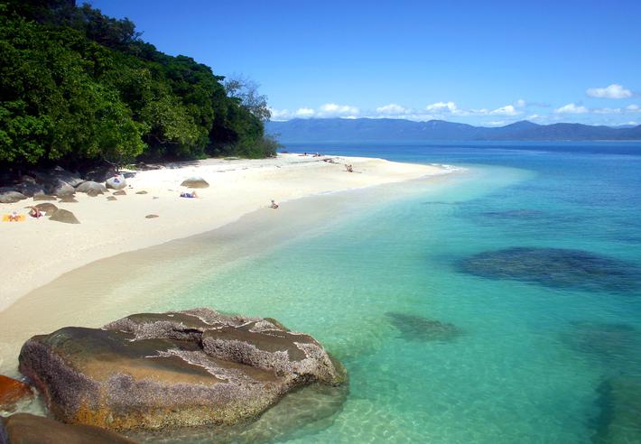 Picture taken on Fitzroy Island, Queensland, Australia