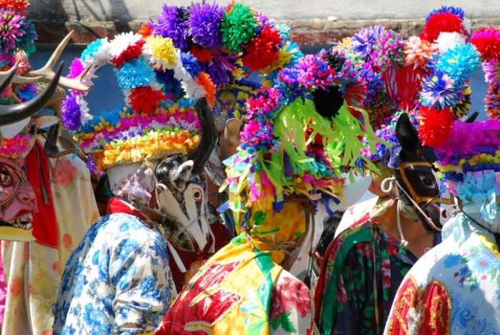 Carnival in Tio Diego, Veracruz Mexico