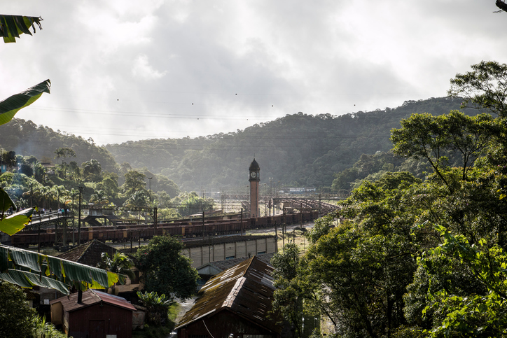 A beautiful day in Paranapiacaba village