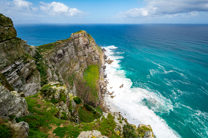 Cape Point at Cape of good Hope, in South Africa