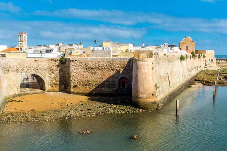 The Portuguese citadel of Mazagan, El Jadida, Morocco