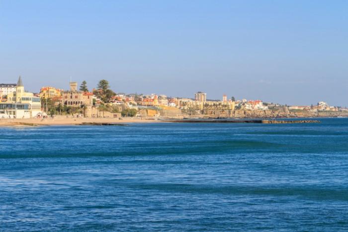 Costa do Estoril em Portugal