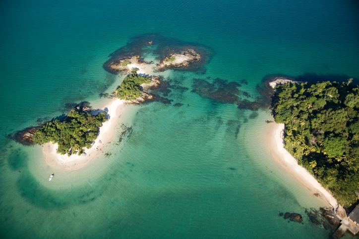 Angra dos Reis, Costa Verde, Rio de Janeiro, Brazil, Brasil,.Baia de Angra, mar,