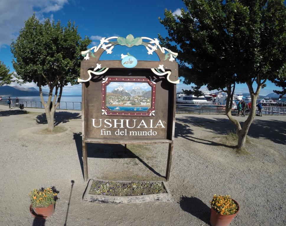 Cartão Postal de Ushuaia.
