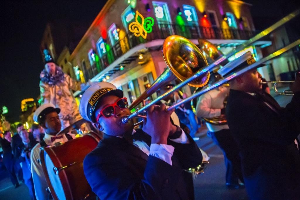 musician-in-a-second-line-parade