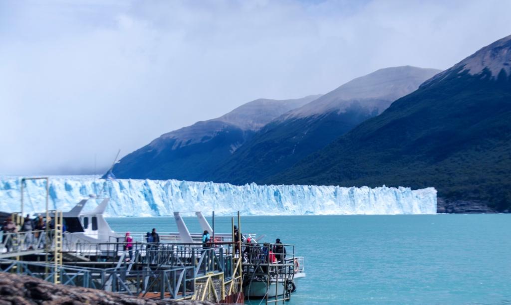 O Glaciar Perito Moreno.