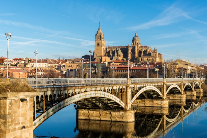 View of City of Salamanca, SpainView of City of Salamanca, SpainView of City of Salamanca, Spain