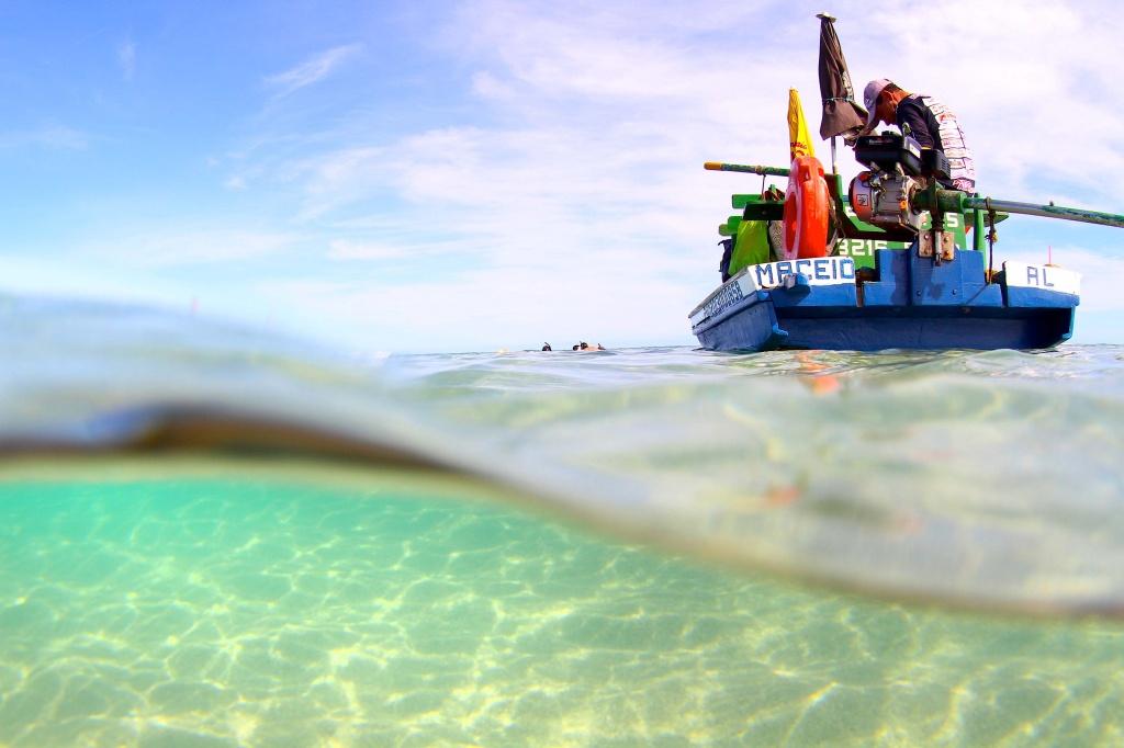 As águas transparentes das piscinas naturais | crédito: Juju na Trip