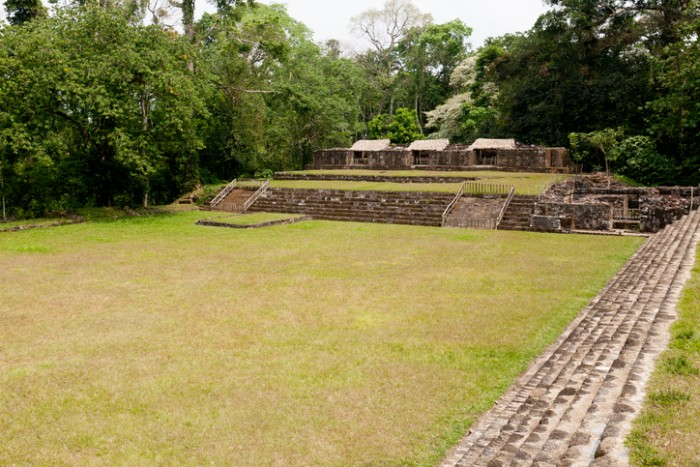 Quirigua national park in Guatemala