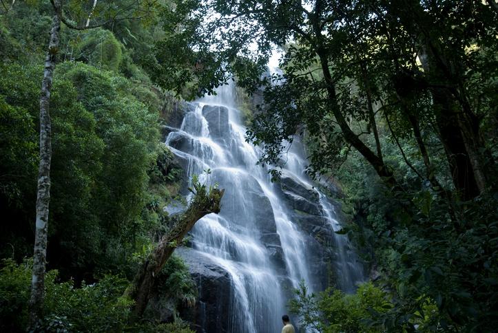 Itatiaia National Park (Veu da Noiva Fall), Rio de Janeiro State, Brazil
