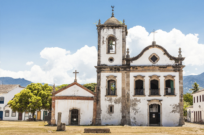 Igreja Santa Rita. Foto por iStock / Luciano_Queiroz