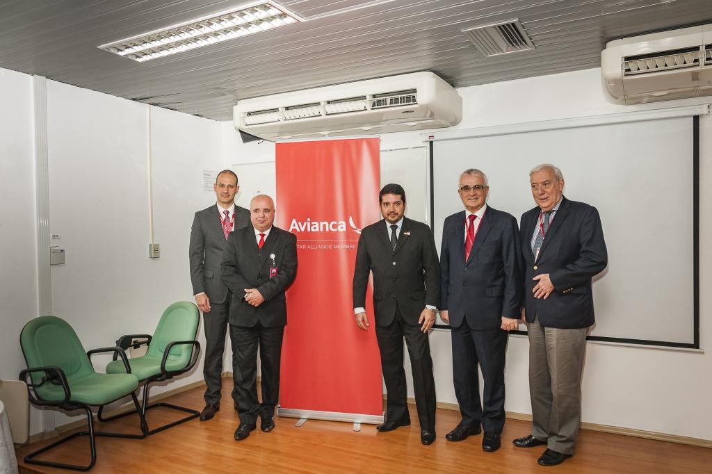 Vice - presidente e diretores da Avianca