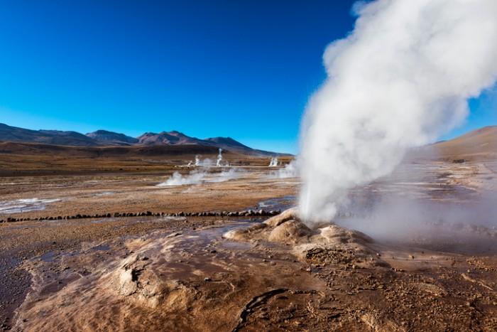 Geysers del Tatio in the Atacama Desert; 2013