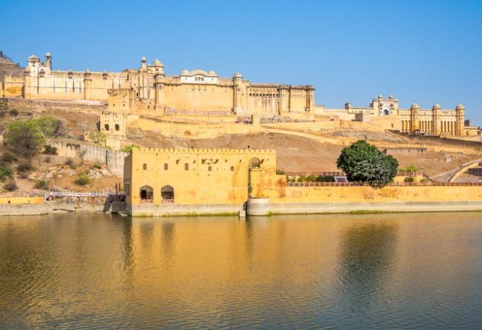 Amer (Amber) Fort, Jaipur, Radjasthan, India
