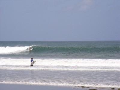 Playa Popoyo, na Nicarágua - famosa pelo surf