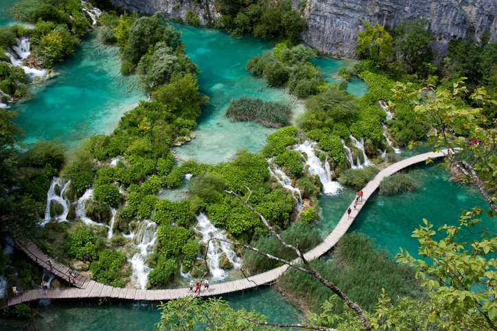 "National Park ""Plitvice Lakes"" in Croatia."